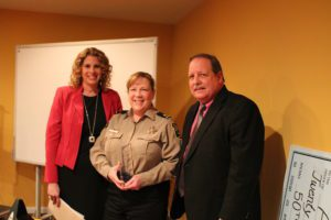 Congratulations to Sergeant Linda Cerniglia of the Loudoun County Sheriff's Office. She is the 2017 recipient of the Rick Berry Professional of the Year Award!