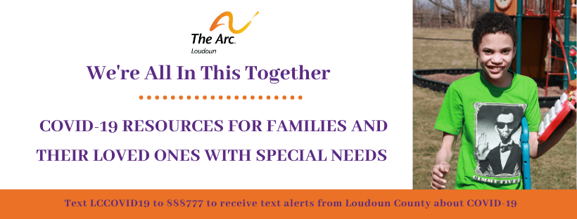 COVID-19 Resources For Families and their Loved Ones with Special Needs